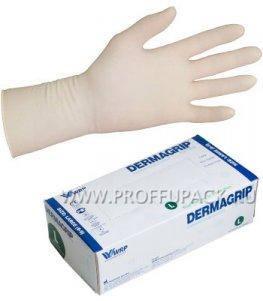 Перчатки латексные DERMAGRIP EXTRA (Экстра) L