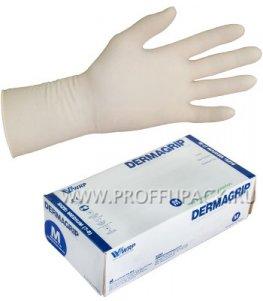 Перчатки латексные DERMAGRIP EXTRA (Экстра) M