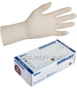 Перчатки латексные DERMAGRIP EXTRA (Экстра) S