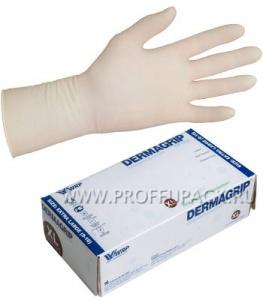Перчатки латексные DERMAGRIP EXTRA (Экстра) XL