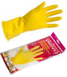 Перчатки латексные хозяйственные L (HOUSEHOLD (Хаус Холд))