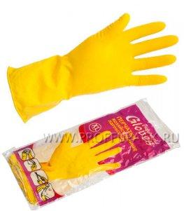 Перчатки латексные хозяйственные XL (HOUSEHOLD (Хаус Холд))