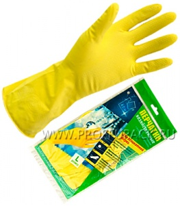 Перчатки латексные хозяйственные L (ADM)