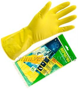 Перчатки латексные хозяйственные XL (ADM)