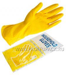 Перчатки латексные хозяйственные М (4010)