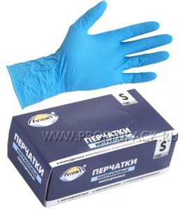 Перчатки нитриловые AVIORA (уп. 100 шт.) S (402-657)