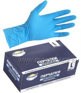 Перчатки нитриловые AVIORA (уп. 100 шт.) L (402-659)