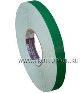 Клейкая лента двухсторонняя вспененная 19х25 BI.ESSE Зеленая