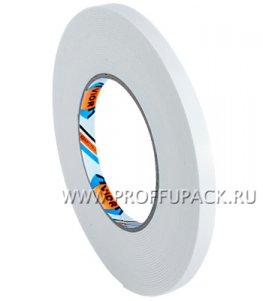 Клейкая лента двухсторонняя вспененная 9х10 AVIORA Белая (302-013)