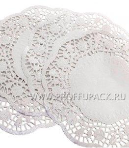 Салфетки ажурные круглые 30 см (250 шт. в уп.) (104-061)