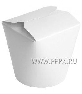 Коробка для лапши БЕЛАЯ 750 мл