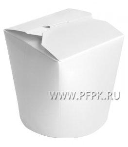 Коробка для лапши БЕЛАЯ 500 мл