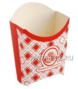 Коробка для картофеля фри 100 гр. Картония