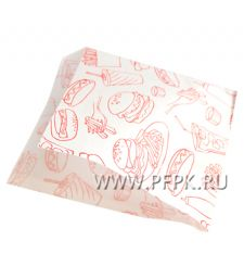 Уголок для гамбургеров 175х150, с рисунком Фаст-фуд