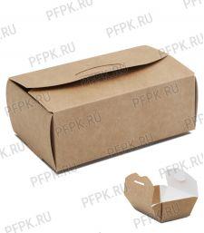 Коробка бум. для наггетсов 115х75мм h45мм крафт (M) 411-004