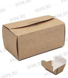 Коробка бум. для наггетсов 150х91мм h70мм крафт (L) 411-005