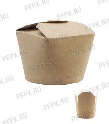 Коробка бум. для лапши V460мл 123х95мм h74мм крафт 411-022