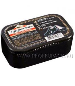 Губка для обуви ЭФФЕКТОН Мгновенный блеск Черная (2303211)