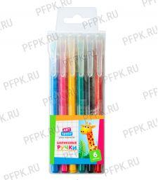 Набор шариковых ручек (6 цветов) ArtSpace (255-440/ВР6_15798); 288 упак