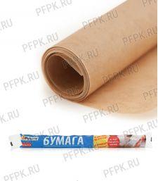 Бумага силиконовая для выпечки 38см*6м Бумага коричневая (209-012) [1/25]