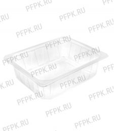 Контейнер под запайку ПР-Л-325х265х50 Прозрачный  PP (М) премиум