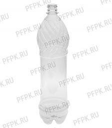 Бутылка 1,5л ПЭТ без крышки д-р 28мм