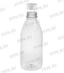 Бутылка 1 л ПЭТ с крышкой д-р 38мм