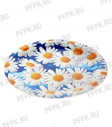 Тарелка бумажная 180мм Ромашки
