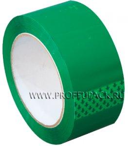 Клейкая лента 48х95 [45 мкм] ЦВ Арт.450505/430505 Зеленая