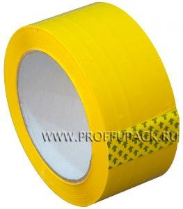 Клейкая лента 48х95 [45 мкм] ЦВ Арт.450505/430505 Желтая