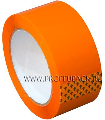 Клейкая лента 48х95 [45 мкм] ЦВ Арт.450505/430505 Оранжевая
