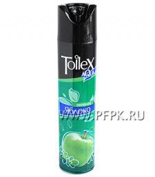 Освежитель воздуха TOILEX 300мл Зеленое яблоко