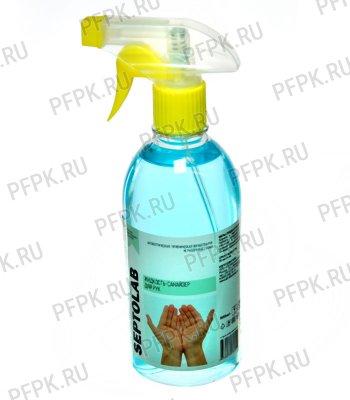 Дезинфицирующее ср-во для рук IPC Septolab 500 мл Жидкость-санайзер