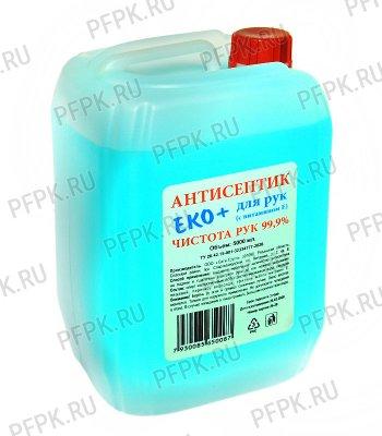 Дезинфицирующее ср-во для рук ЭКО+ 5л (антисептик)