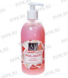 Крем-мыло Afi 500мл с дозатором Сочная земляника