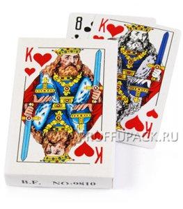Карты игральные КОРОЛЬ, покерные