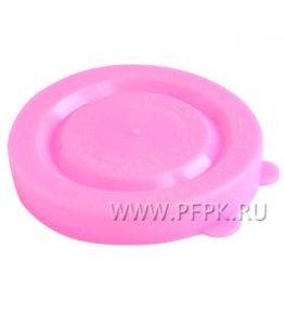 Крышки для банок полиэтиленовые Розовые