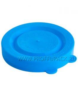 Крышки для банок полиэтиленовые Голубые