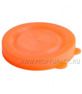 Крышки для банок полиэтиленовые Оранжевые