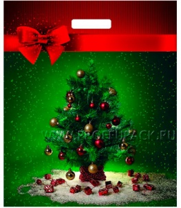 НГ ГЛЯНЕЦ проруб. 38х45+3 (60 мкм) ПВД, ТИКО Маленький праздник