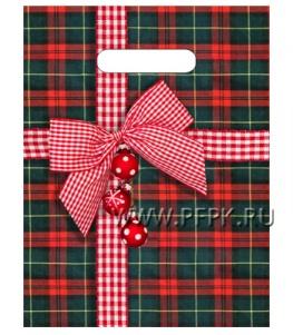 НГ БУТИК проруб. 23х30 (30 мкм) ПВД, ТИКО Шотландский подарок