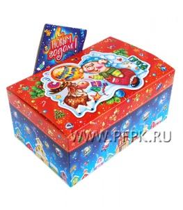 Коробка картон. 900 гр Подарок Подарок от Фунтика