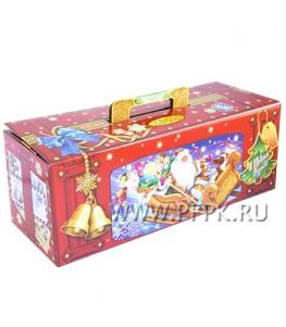 Коробка картон. 2000 гр Чемоданчик Сани