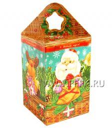 Коробка картон. 1000 гр Корзина подарков