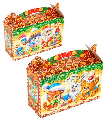 Коробка картон. 500 гр Пряник