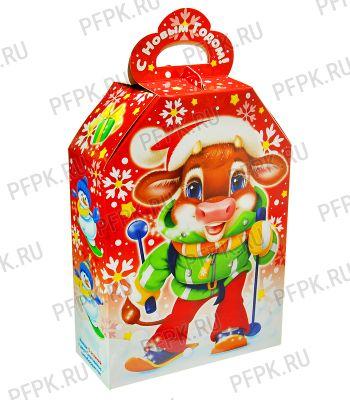 Коробка картон. 900 гр Егорка Красный (4301)