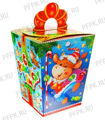 Коробка картон. 1200 гр Санта