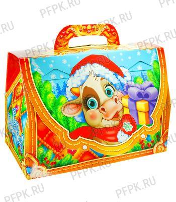 Коробка картон. 1400 гр Сказочный чемоданчик