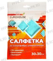 Салфетка из микрофибры универсальная 30х30 (13107)