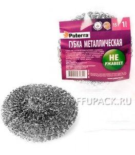 Губка металлическая плетеная PATERRA (406-078)